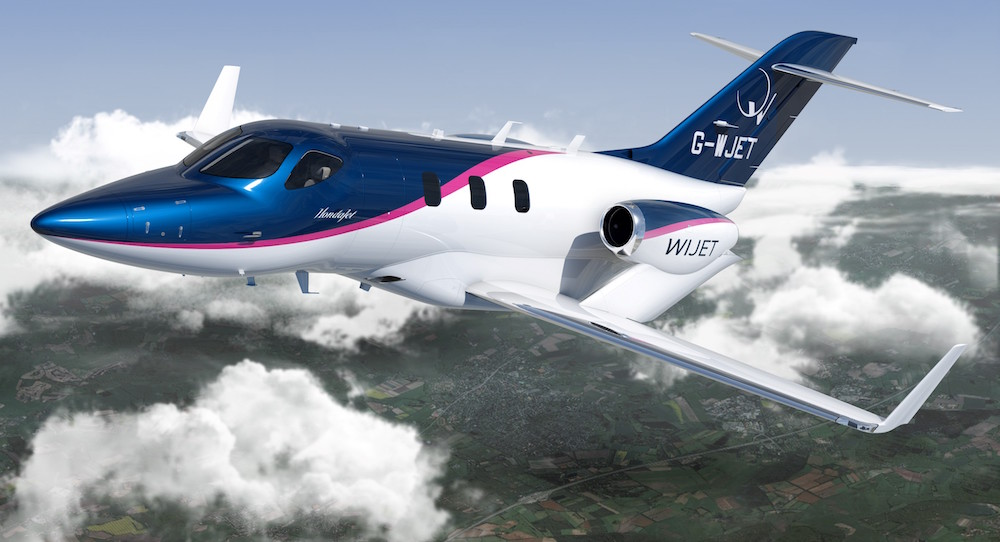 Wijet commande 16 bir acteurs hondajet aerobuzz for How much is a honda jet