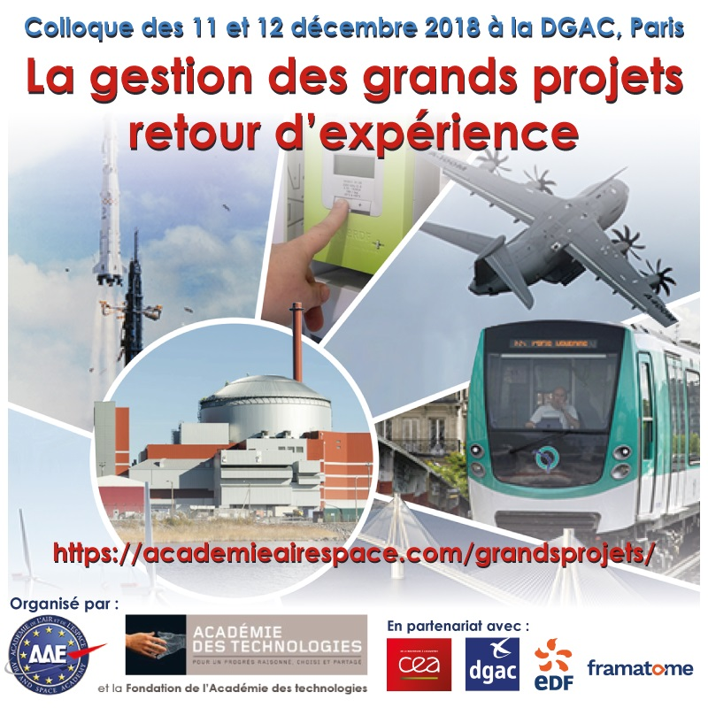 La gestion des grands projets : retour d'expérience @ DGAC, Paris   Paris   Île-de-France   France
