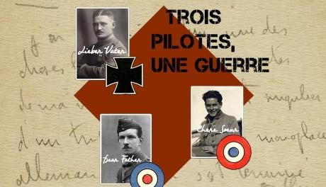 Exposition Trois pilotes, une guerre au Musée de l'Air et de l'Espace @ Musée de l'Air et de l'Espace    Le Bourget   Île-de-France   France