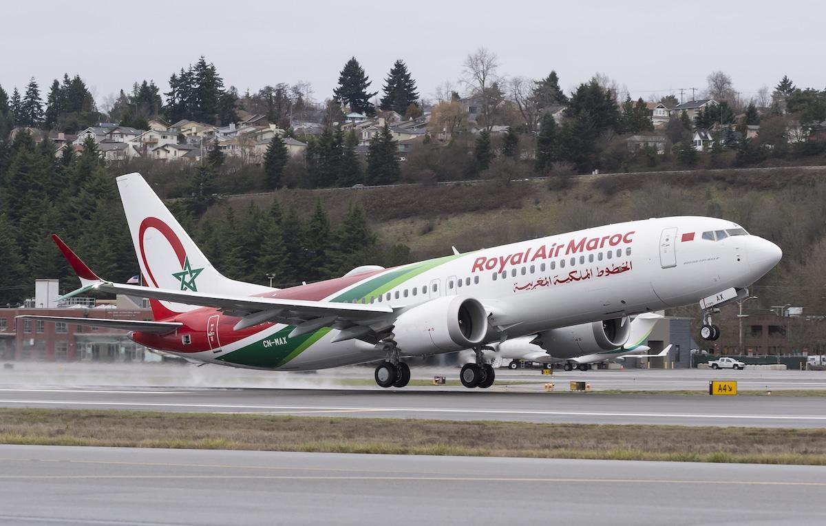 Boeing Livre 224 Royal Air Maroc Son Premier 737 Max Aerobuzz