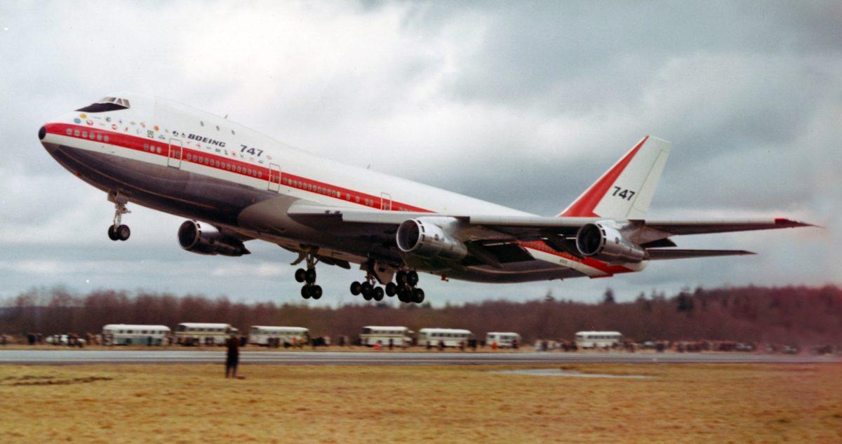 Il y a 50 ans, le premier vol du Boeing 747 - Aerobuzz