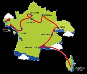 Arrivée du Tour Rêves de Gosses 2019 @ Aéro Club de la Région de Lorient