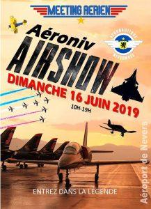 Aéroniv Airshow 2019 @ Aéroport de Nevers Fourchambault