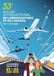 Salon International de l'Aéronautique et de l'Espace 2019 @ Paris Airport-Le Bourget