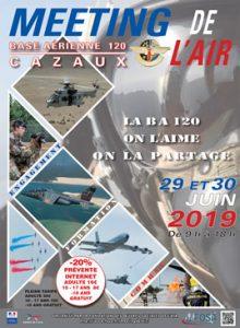 """Meeting de l'Air (FOSA) Cazaux @ Base Aérienne 120 """"Commandant Marzac"""""""