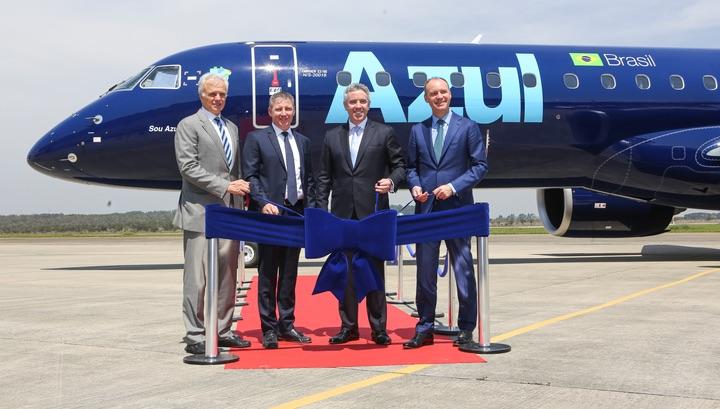 Embraer livre son premier 195-E2 - Aerobuzz