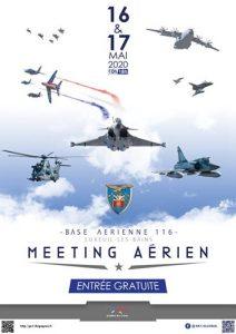 Meeting Aerien BA 116 (Annulé) @ Base aérienne de Luxeuil-les-Bains