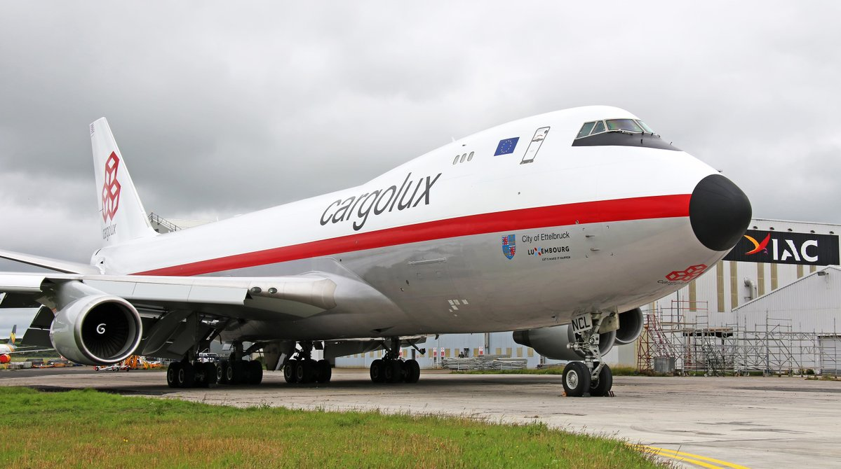 Cargolux présente son Boeing 747-400 Retrojet