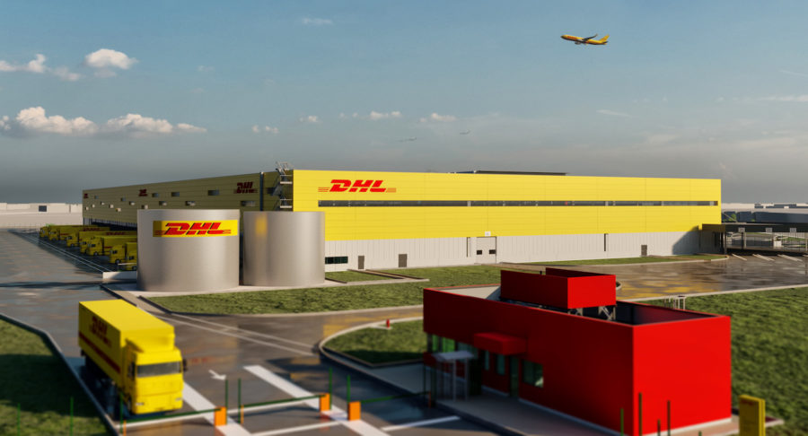 Futur hub pour DHL à Roissy