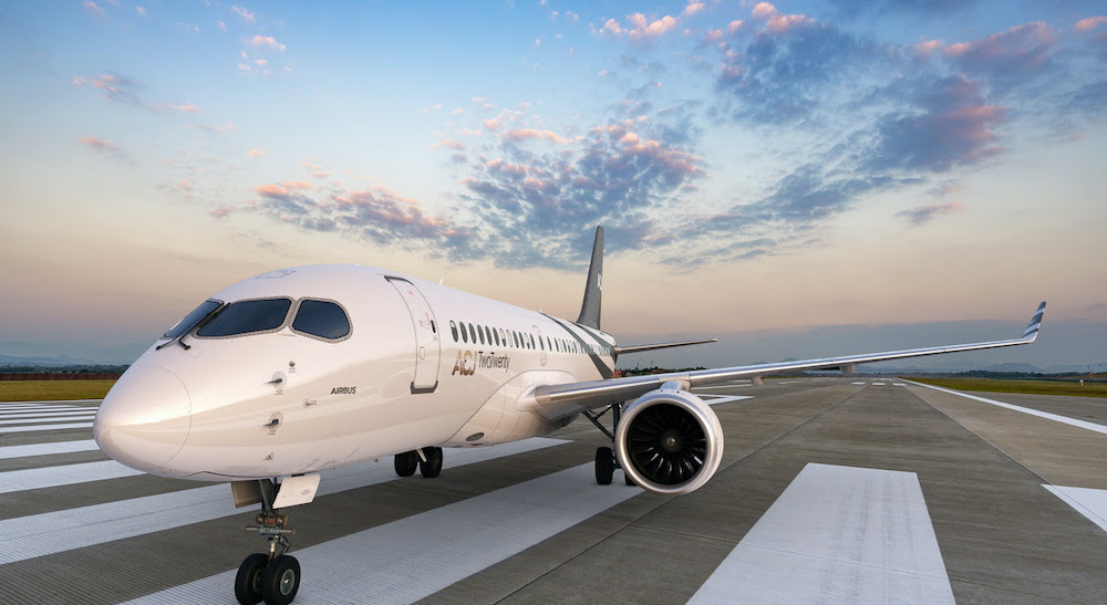 Airbus lance une version affaires de son A220