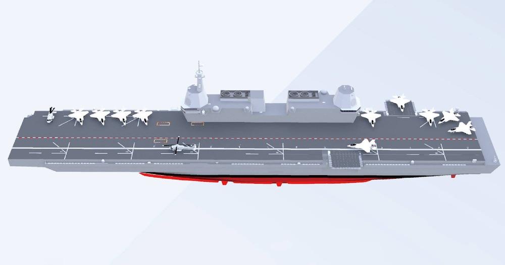 Un porte-avions made in Korea
