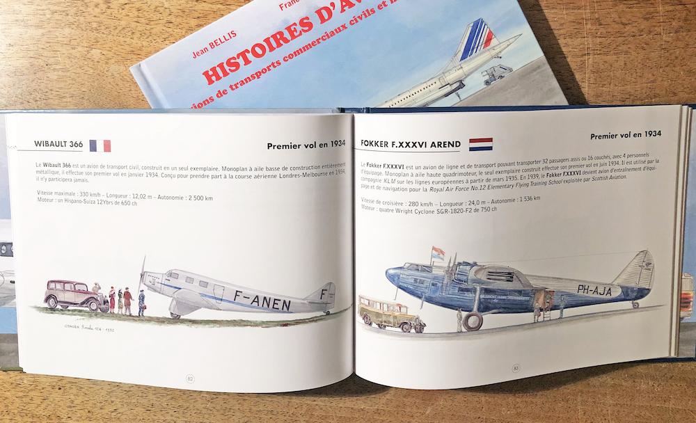 Histoires d'avions – tomes 3 et 4