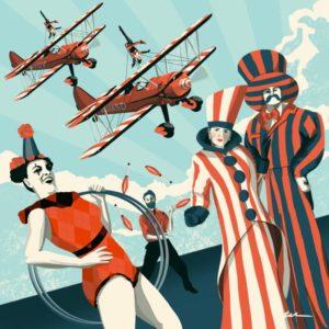 Flying Circus Shuttleworth Collection 2021 @ Old Warden Aerodrome Grande Bretagne