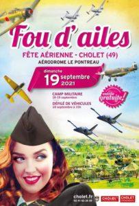 Fou d'ailes 2021 (Annulé) @ Aérodrome de Cholet-Pontreau